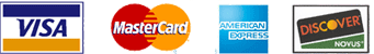 Accpeted credit cards by PayPal